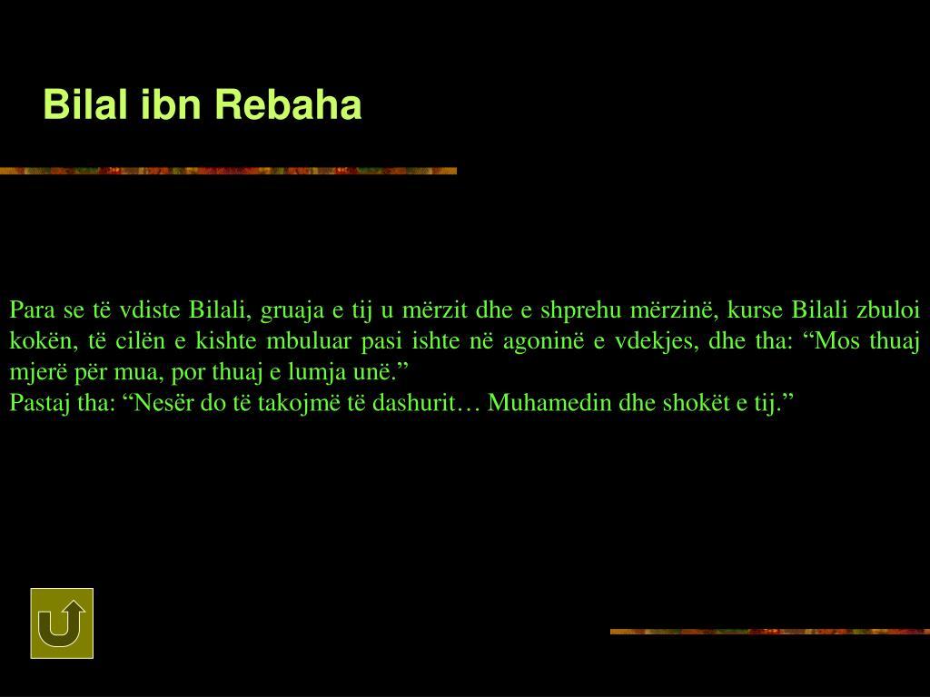 Bilal ibn Rebaha