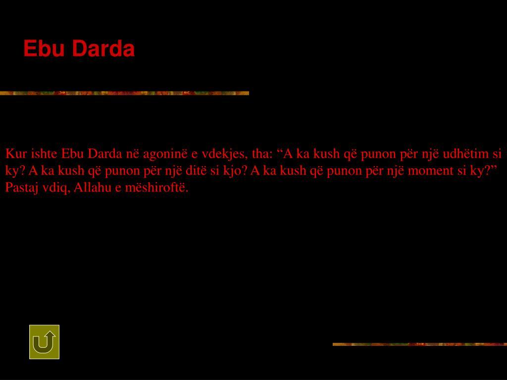 Ebu Darda