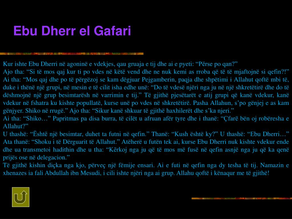 Ebu Dherr el Gafari