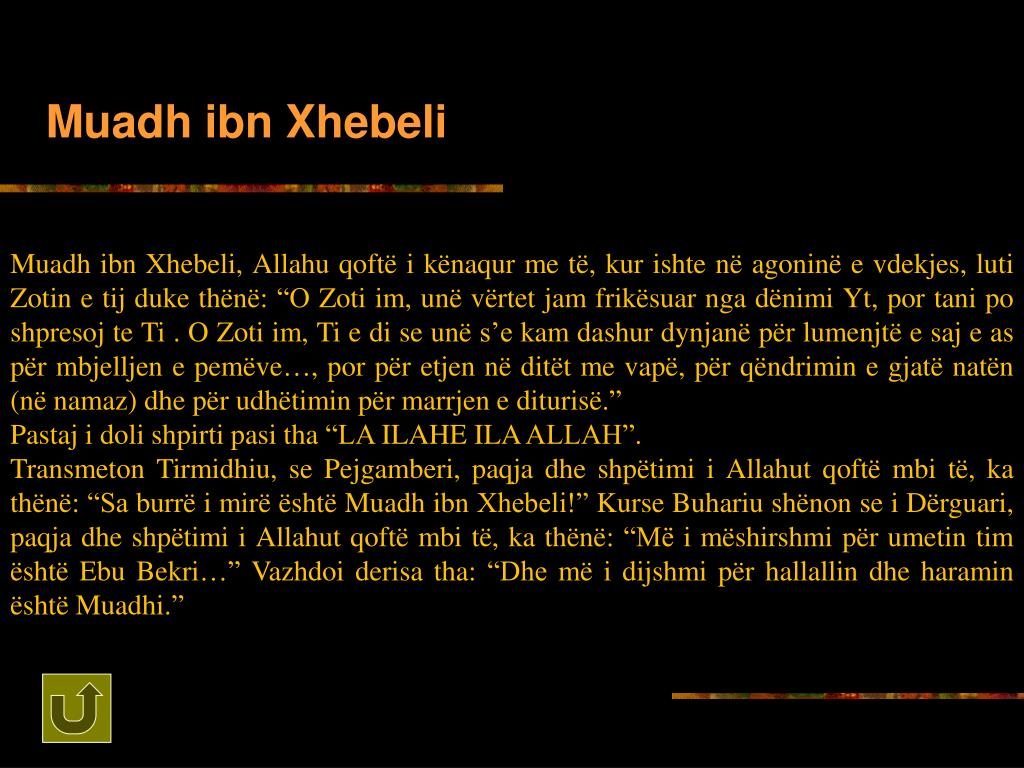 Muadh ibn Xhebeli