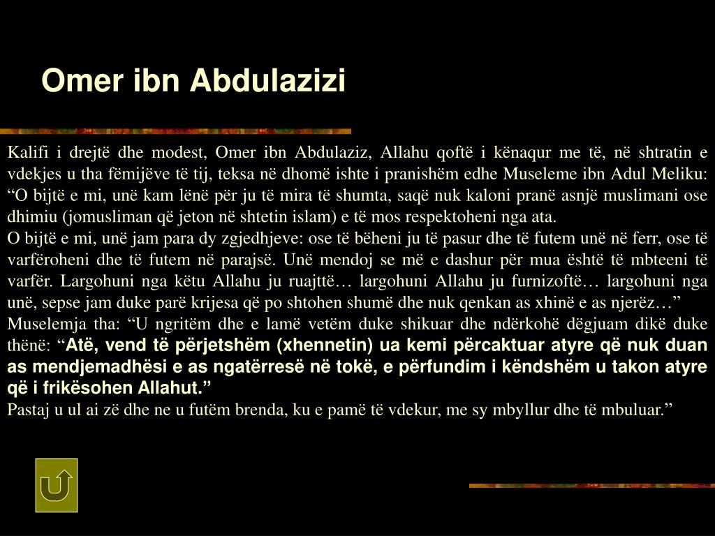 Omer ibn Abdulazizi
