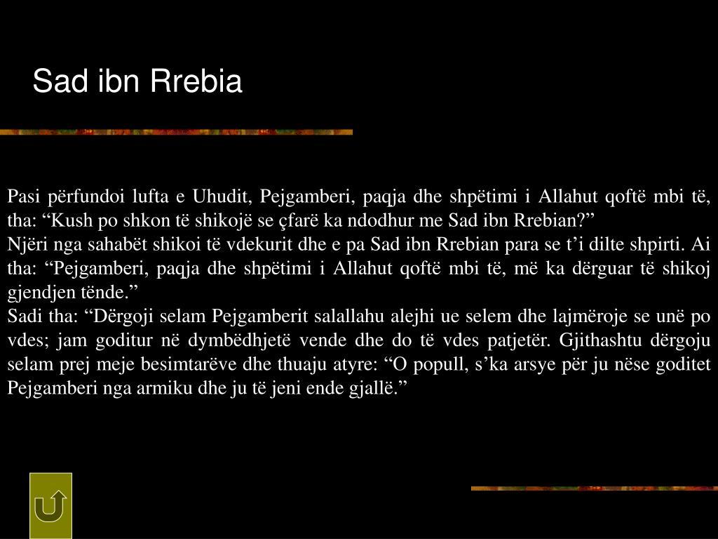 Sad ibn Rrebia