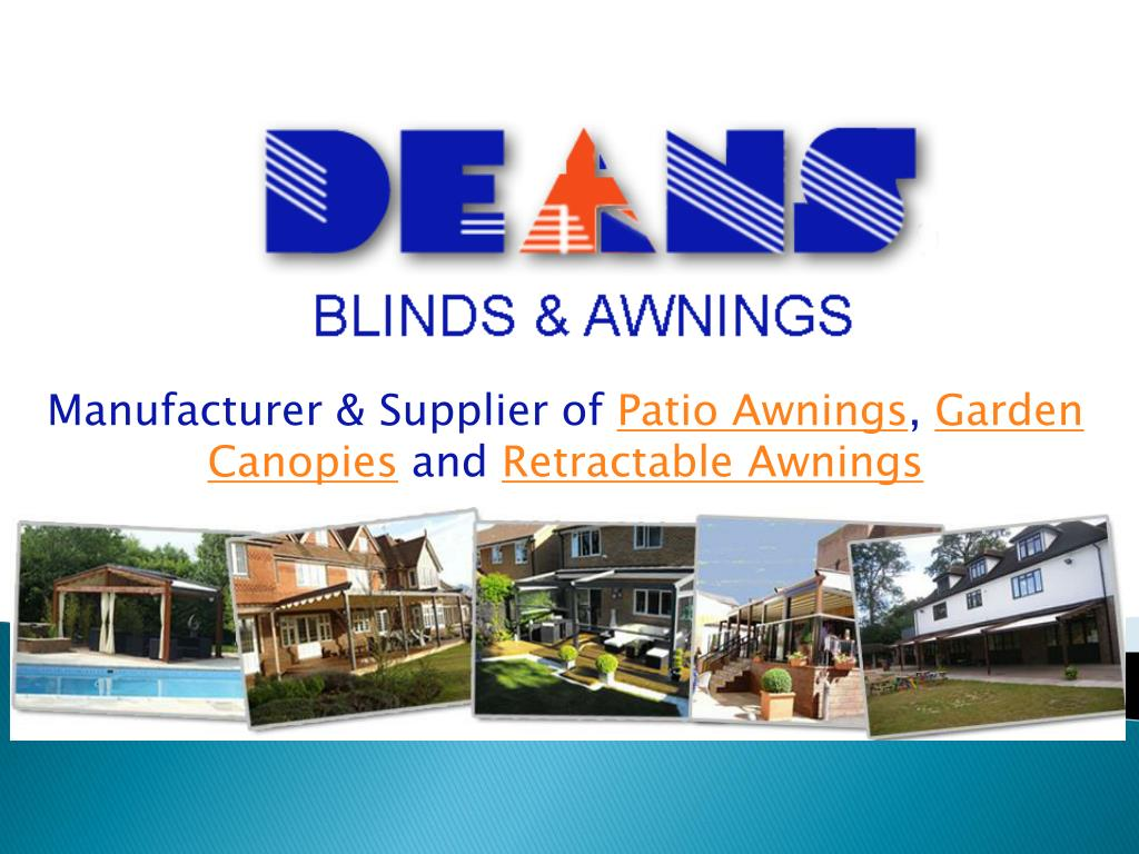manufacturer supplier of patio awnings garden canopies and retractable awnings l.