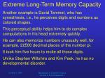 extreme long term memory capacity2