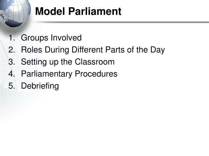 Model parliament2