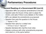 parliamentary procedures29