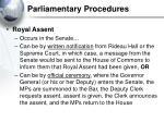 parliamentary procedures38