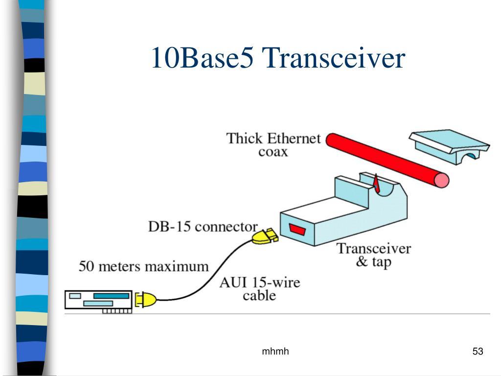10Base5 Transceiver