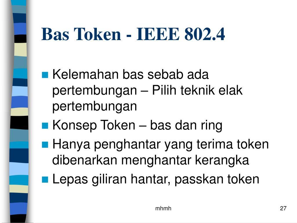 Bas Token - IEEE 802.4
