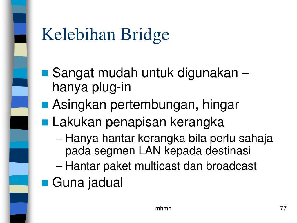Kelebihan Bridge
