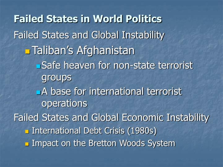 Failed states in world politics3