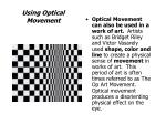 using optical movement