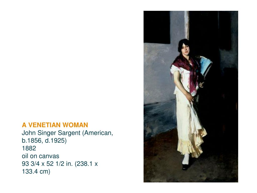A VENETIAN WOMAN