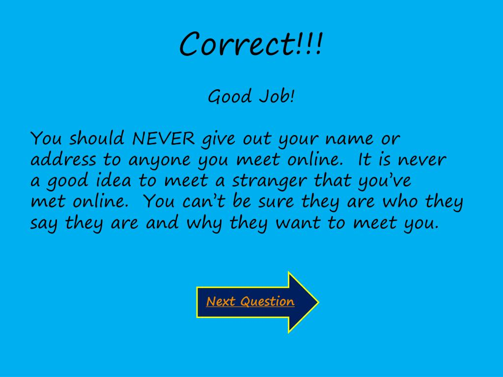 PPT - Internet Safety Quiz PowerPoint Presentation - ID:414795