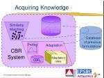 acquiring knowledge