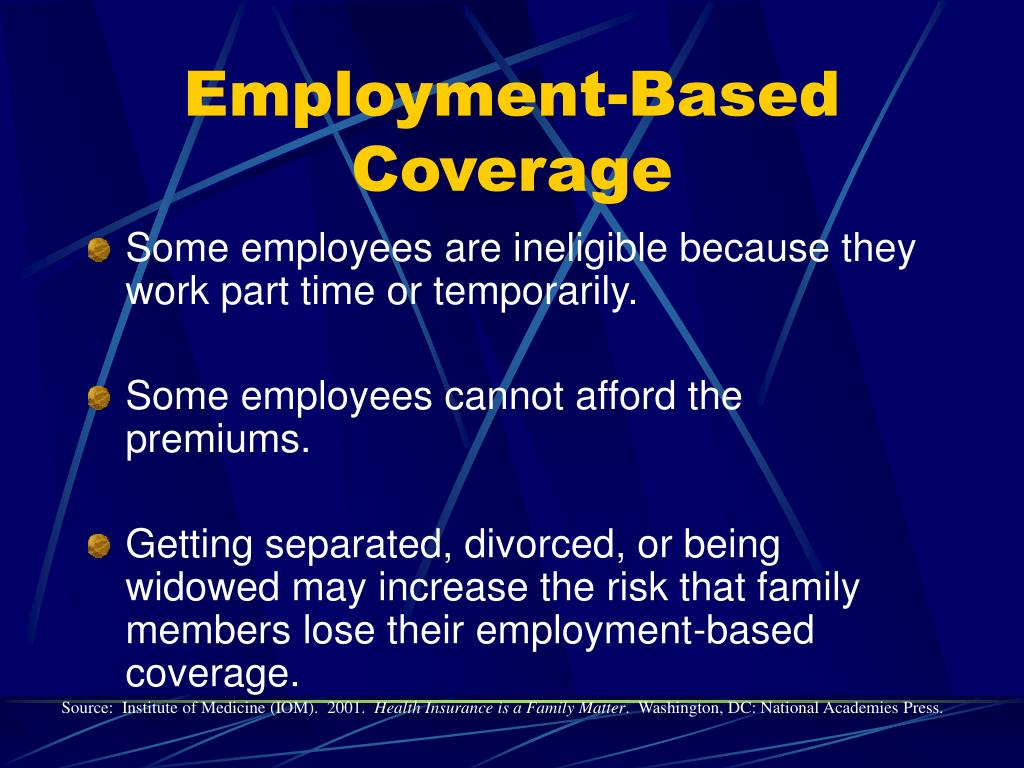 Employment-Based Coverage