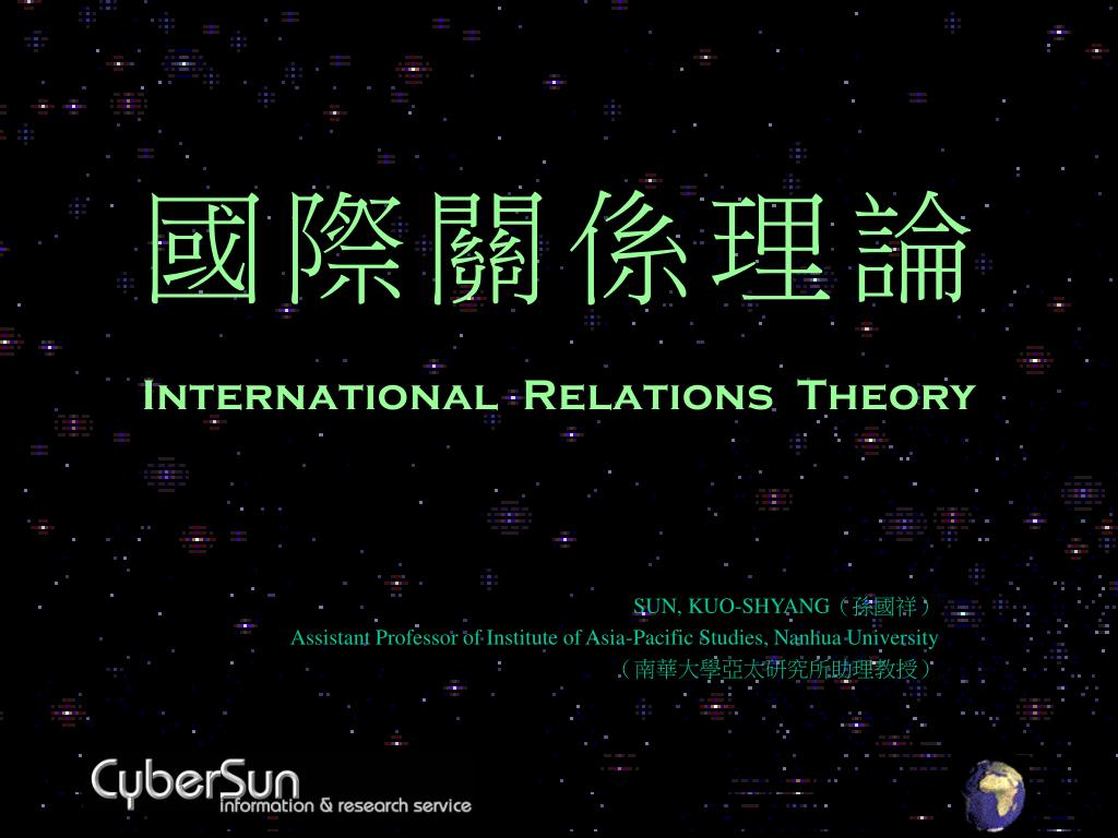 international relations theory l.