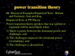 power transition theory14