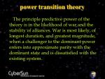 power transition theory22