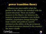 power transition theory23