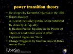 power transition theory24