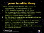 power transition theory28