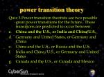 power transition theory29