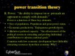 power transition theory6