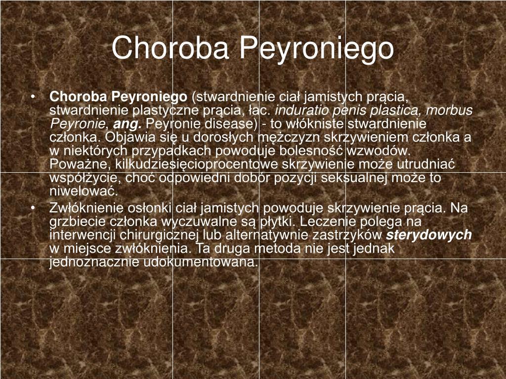 Choroba Peyroniego