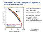 new models like pole can provide significant benefits for minimal cost