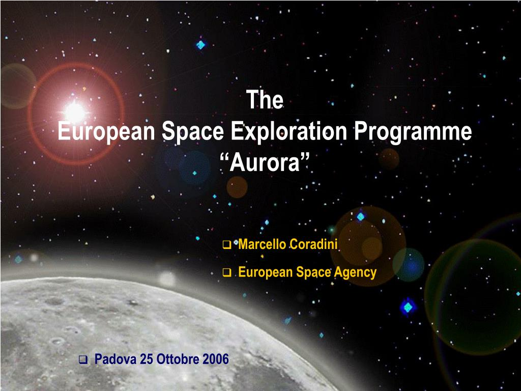 the european space exploration programme aurora l.