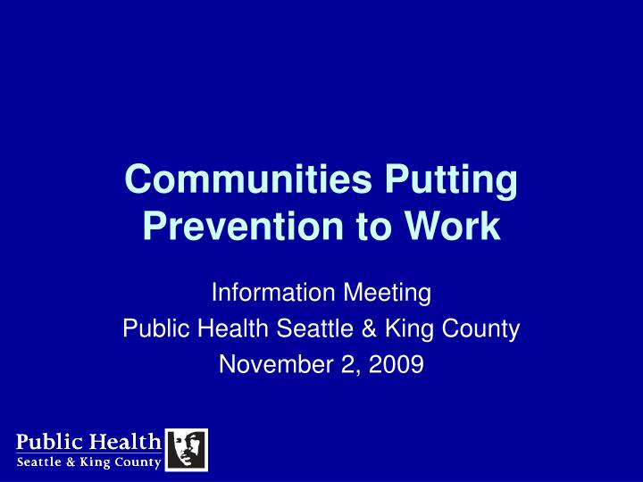 communities putting prevention to work n.