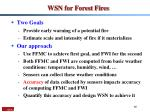 wsn for forest fires