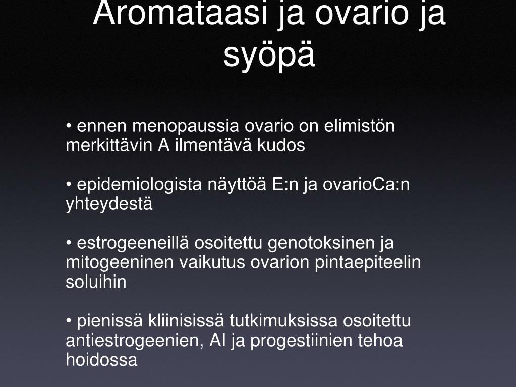 Aromataasin Estäjä