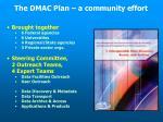 the dmac plan a community effort