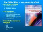 the dmac plan a community effort23