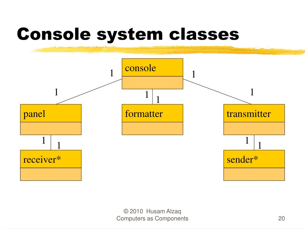 Console system classes