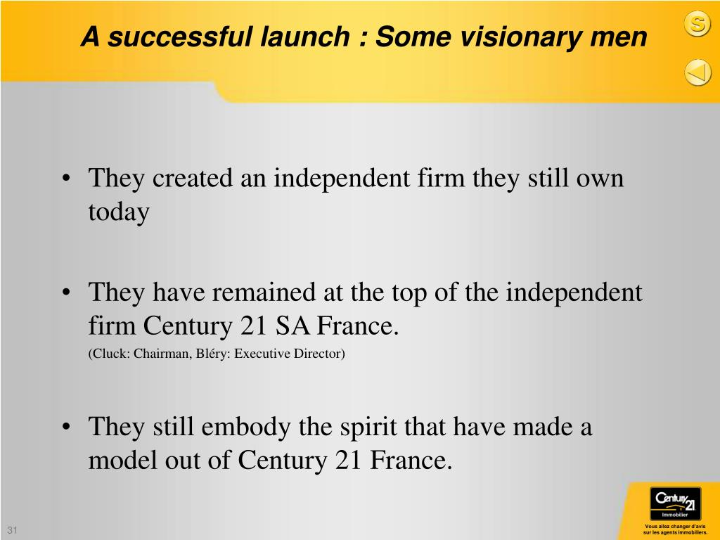 They created an independent firm they still own today