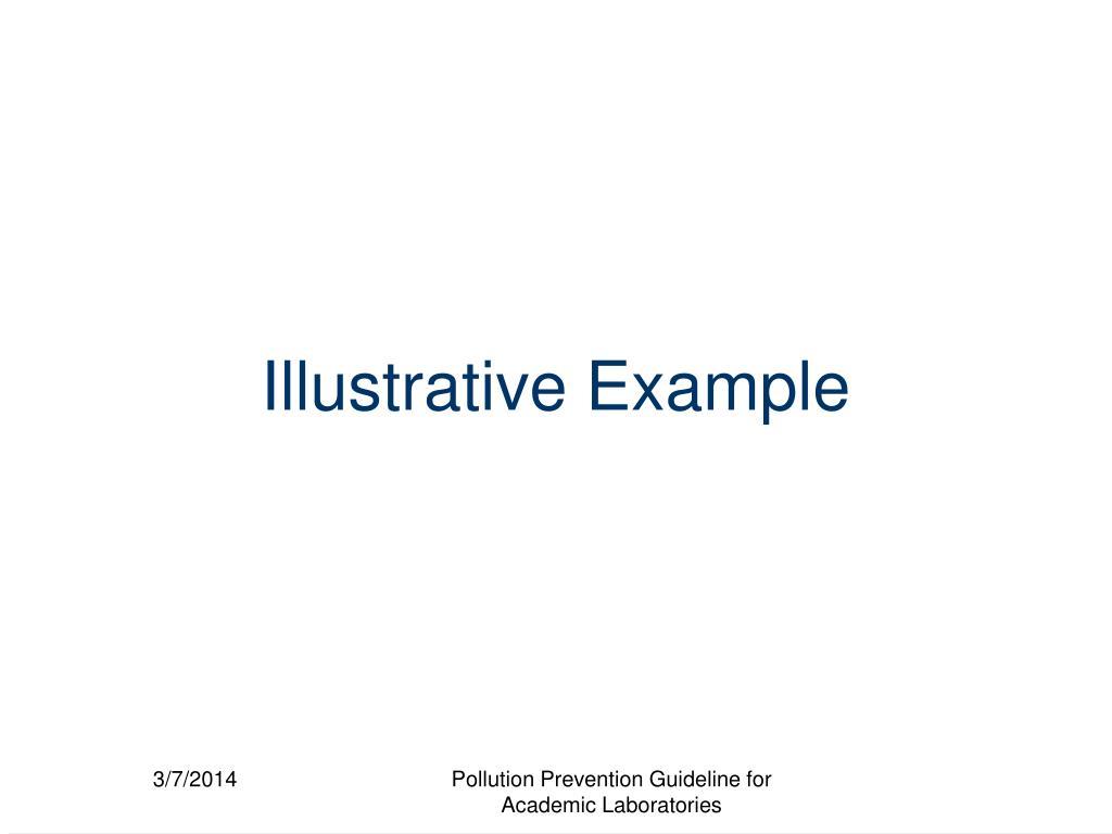 Illustrative Example