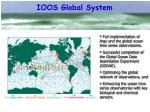 ioos global system