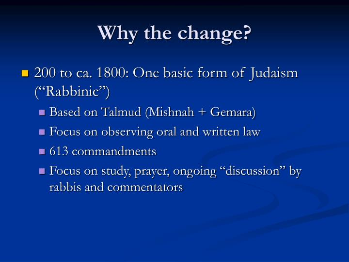 a study on the many facets and variations of judaism The many facets of asarah b'teves by rabbi yehuda spitz although to many the only notable aspect of the upcoming fast of asarah b'teves (the 10 th of teves ) is that it is by far the shortest fast day in the jewish calendar for anyone in the northern hemisphere (my heartfelt sympathies to the south americans, so'africans, aussies, and kiwis.