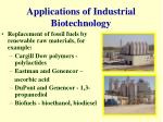 applications of industrial biotechnology5