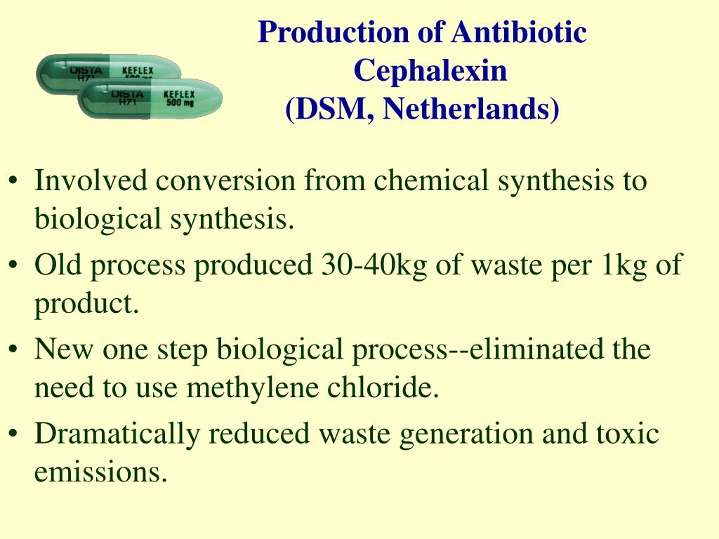 Production of Antibiotic