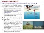 modern agricultural