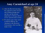 amy carmichael at age 244
