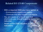 related eo 13148 components