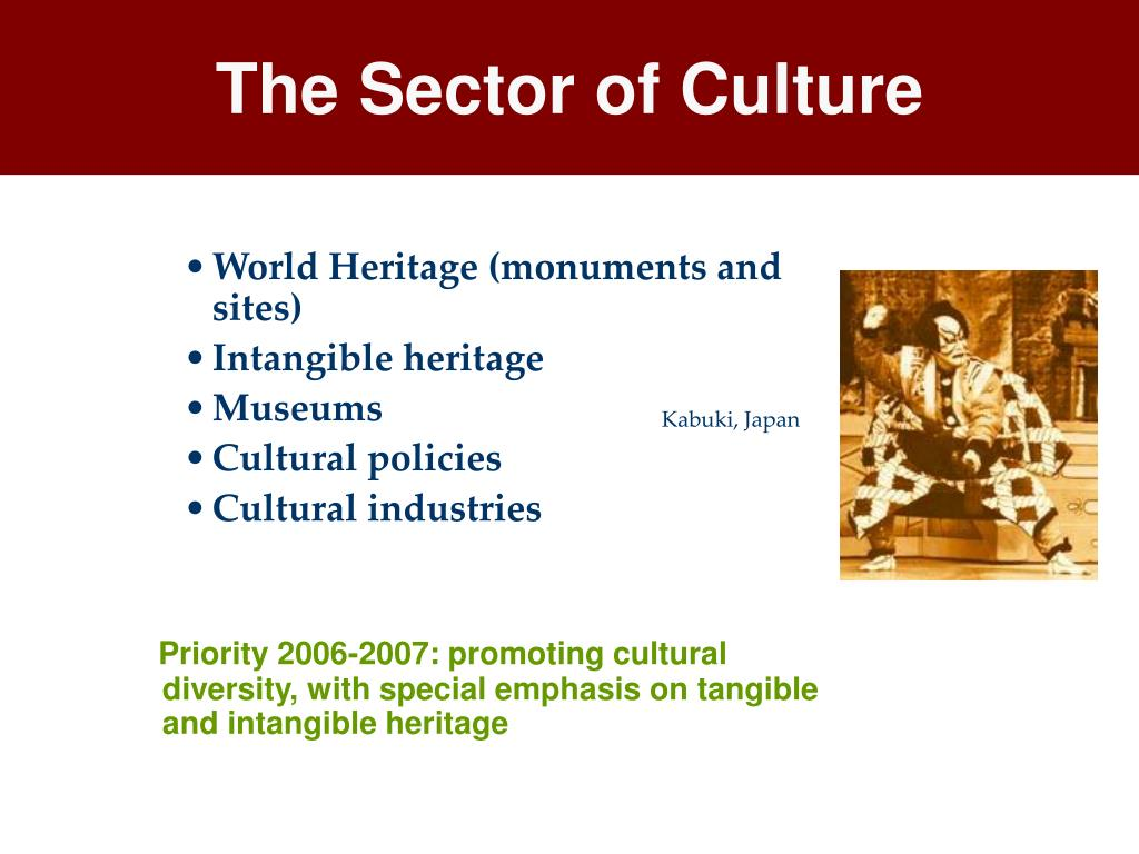 The Sector of Culture