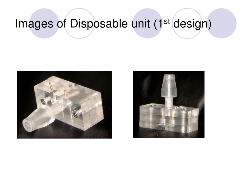 Images of Disposable unit (1