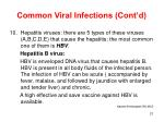 common viral infections cont d21
