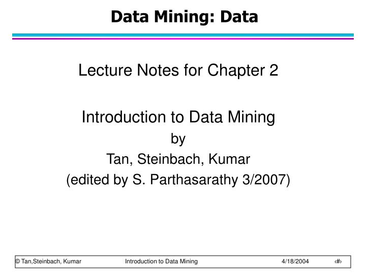 data mining data n.